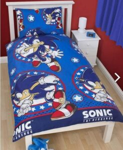 "Parure copripiumino singolo Sonic The Hedgehog ""Sprint"""