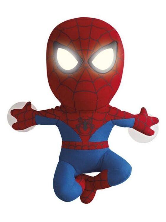 Peluche e luce notturna 2 in 1 Spiderman