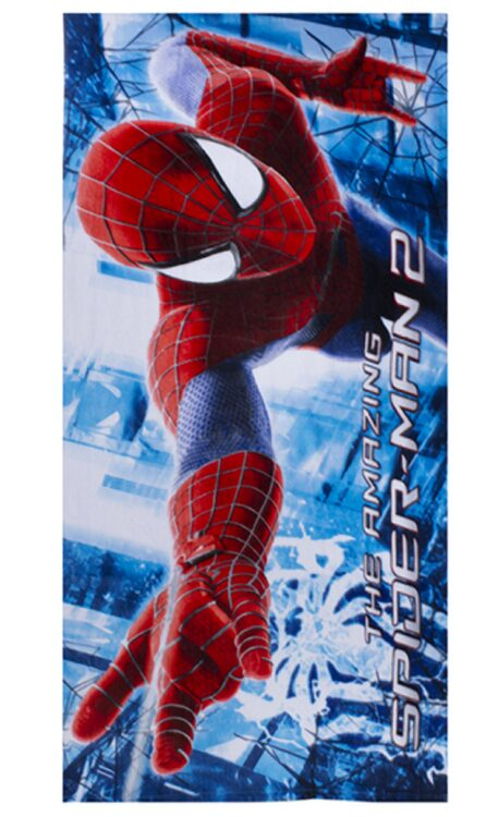 Asciugamano telo mare Spiderman Web