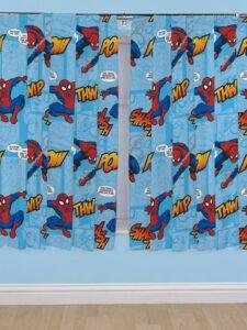 Tende per cameretta Spiderman Thwip 137cm