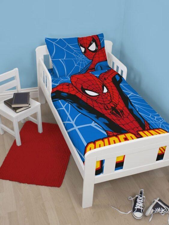 Parure copripiumino lettino Spiderman Parker