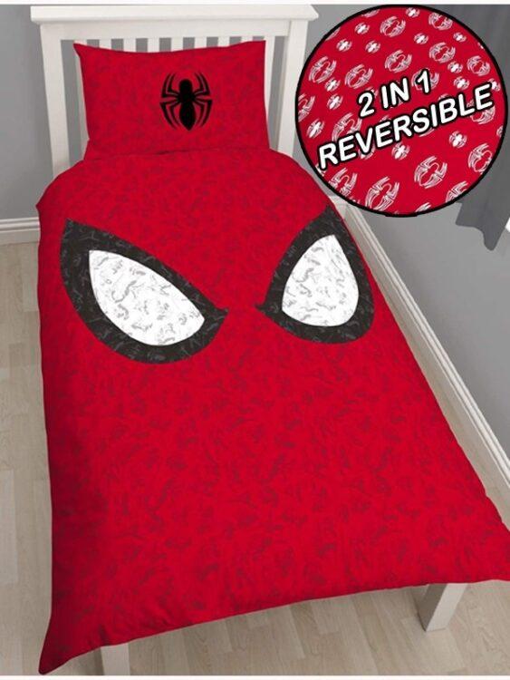 Parure copripiumino singolo Spiderman Reflex