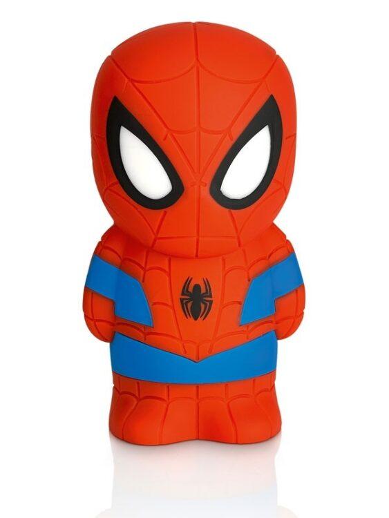 Lampada soft a LED sagomata Spiderman