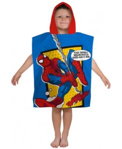 Accappatoio poncho Spideman Webhead