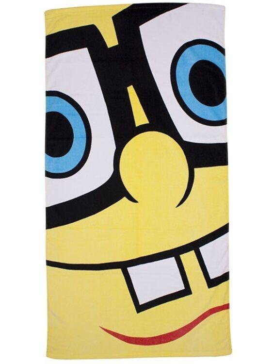 Asciugamano telo mare Spongebob