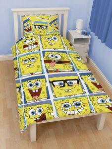 Parure copripiumino singolo Spongebob Framed