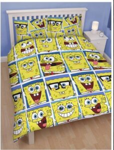 Parure copripiumino matrimoniale Spongebob