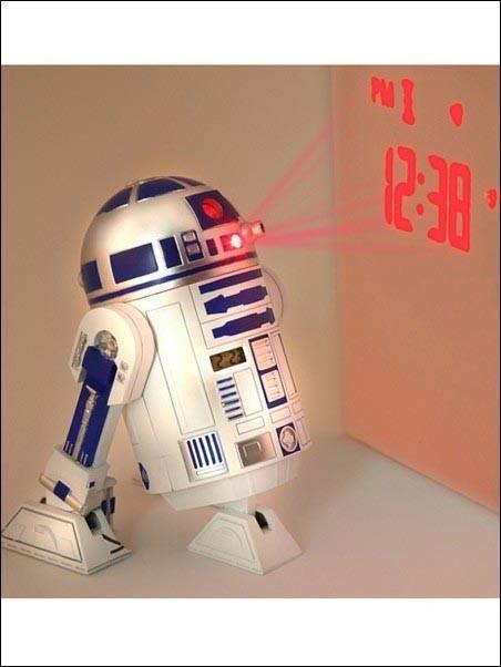 Sveglia proiettore Star Wars R2-D2