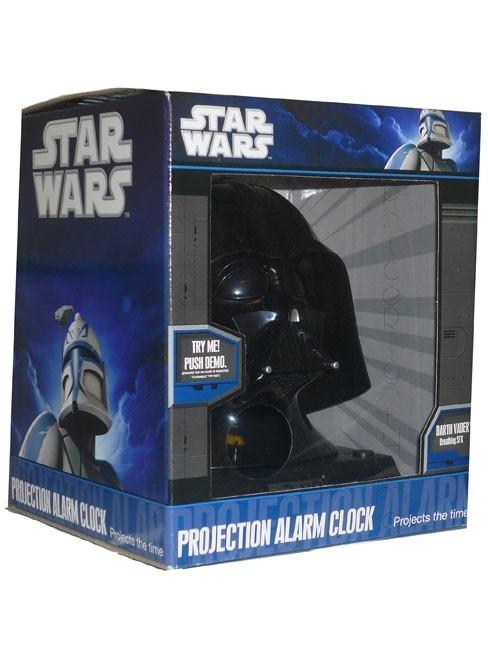 Star Wars Darth Vader - Sveglia 3D con proiettore