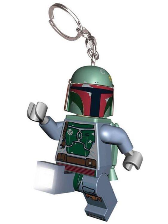 Portachiavi con luce Lego Star Wars Boba Fett