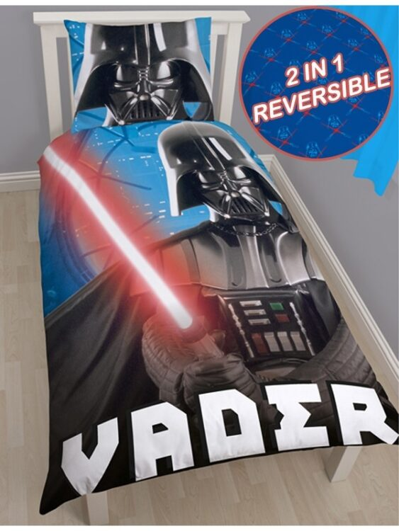 Parure copripiumino singolo Star Wars Darth Vader