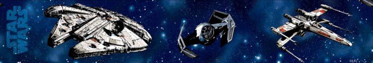 Bordo adesivo per cameretta Star Wars Craft