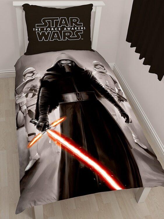 Parure copripiumino singolo Star Wars Episode VII Kylo Ren