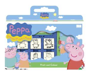 Valigetta 7 Timbri Peppa Pig