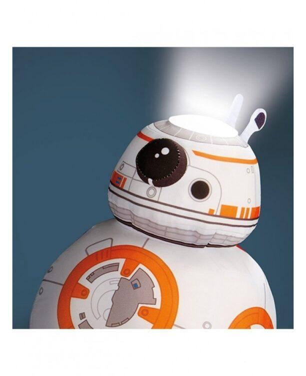 Peluche e luce notturna 2in1 Star Wars BB-8