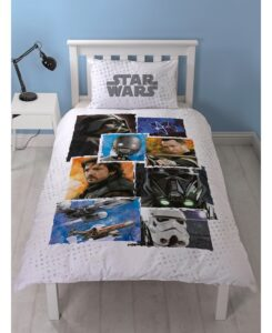 Parure copripiumino letto singolo Star Wars Rogue One