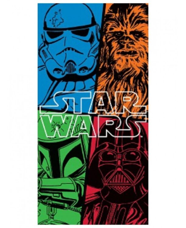 "Asciugamano telo mare Star Wars ""Force"""