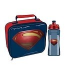 Set lunch box e borraccia Superman