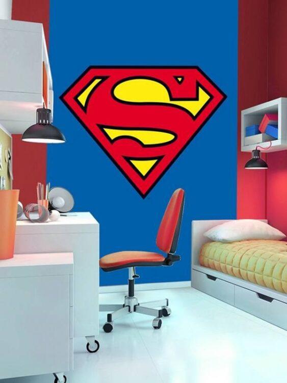 Fotomurale Logo Superman 232cm x 158cm