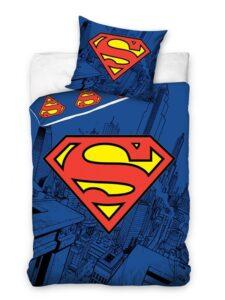 Parure Copripiumino Singola Superman Logo