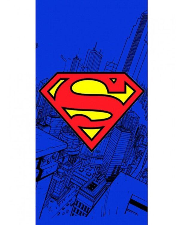 Asciugamano telo mare Superman Logo