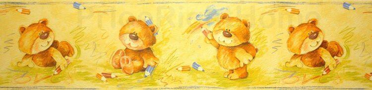 Bordo adesivo Teddy Bear 5mt
