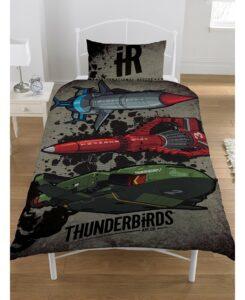 Parure copripiumino letto singolo Thunderbirds
