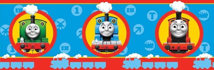Bordo adesivo Trenino Thomas