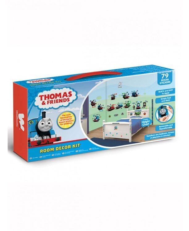 Kit 82 adesivi decorativi Trenino Thomas