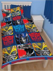 Parure copripiumino singolo Transformers Four