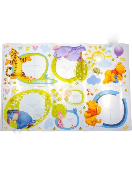 Adesivi da pareti Winnie The Pooh 46 pezzi