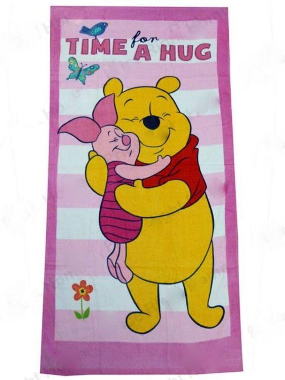 Asciugamano telo mare Winnie Pooh e Pimpi
