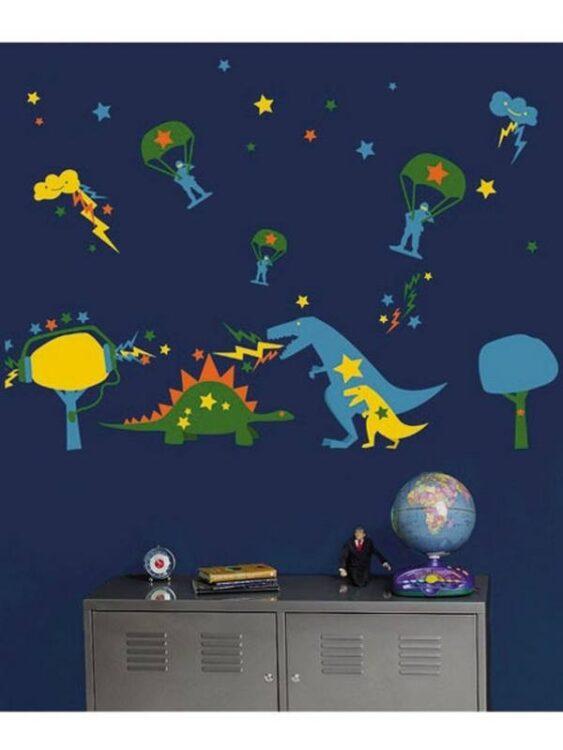 Decorazioni murali Dinosauri