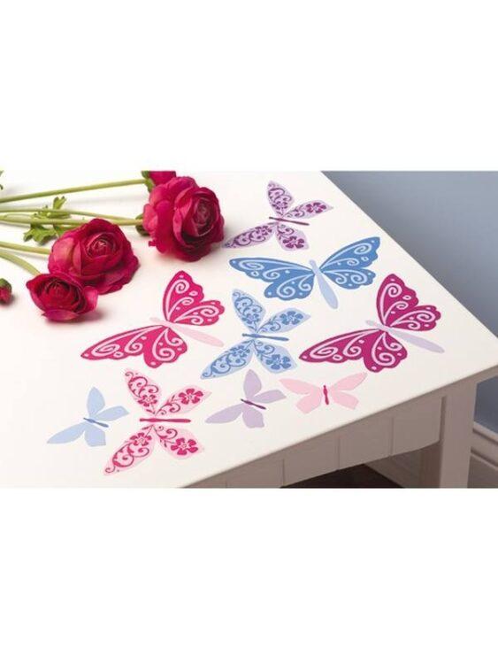 Decorazioni adesive Farfalle
