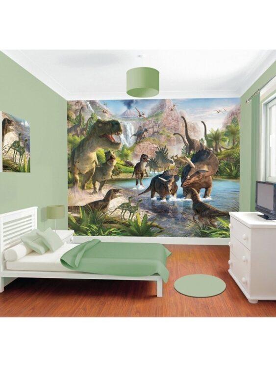 Murales Terra dei Dinosauri Walltastic