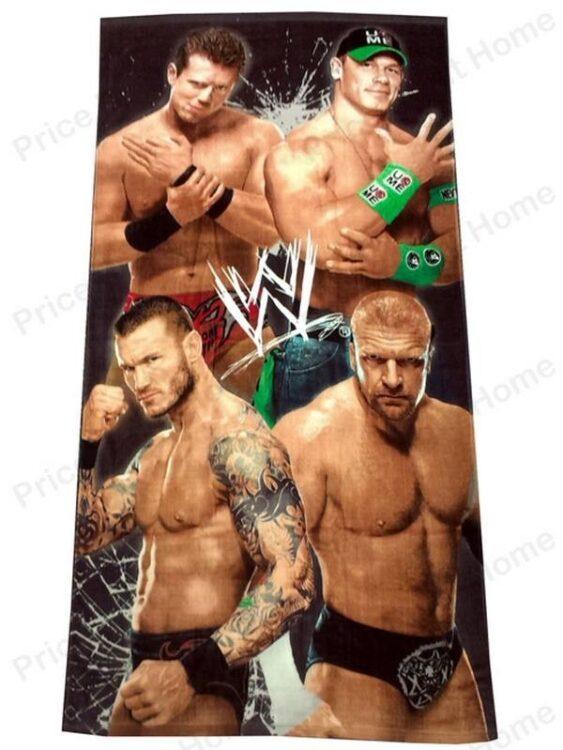 Asciugamano telo mare Wrestling Superstar
