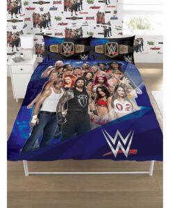 Parure copripiumino piazza e mezza/matrimoniale WWE