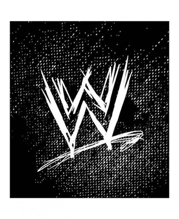 Plaid pile WWE Wrestling Logo