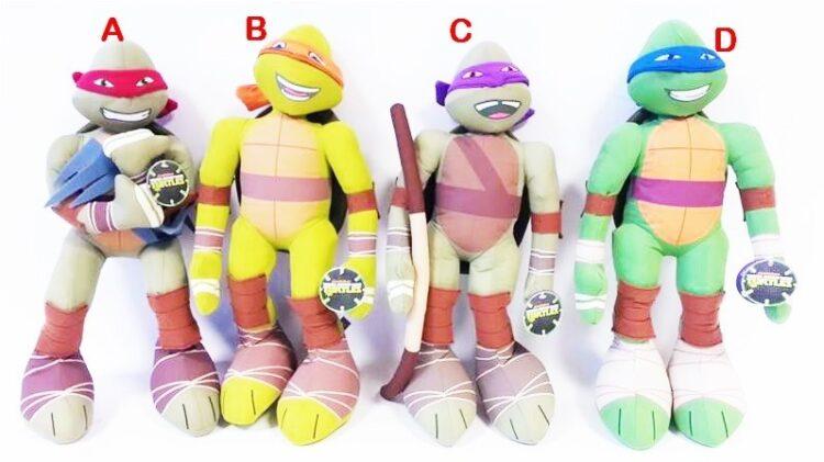 Maxi Peluche Ninja Turtles 45 cm