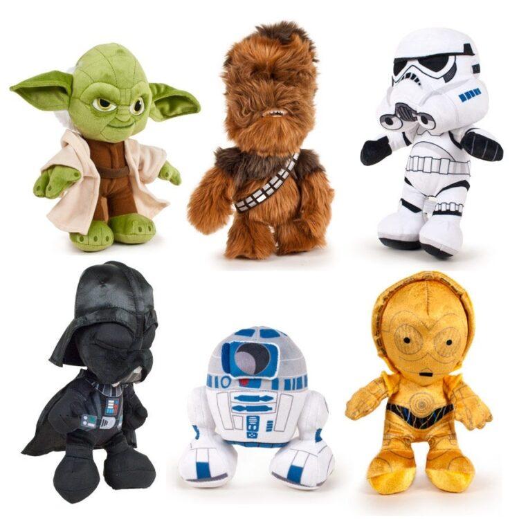 Peluche assortiti Star Wars 25cm
