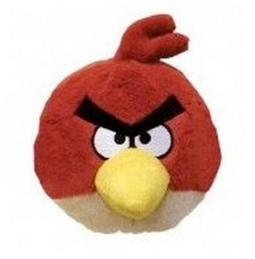 Peluche Angry Birds 20 cm rosso