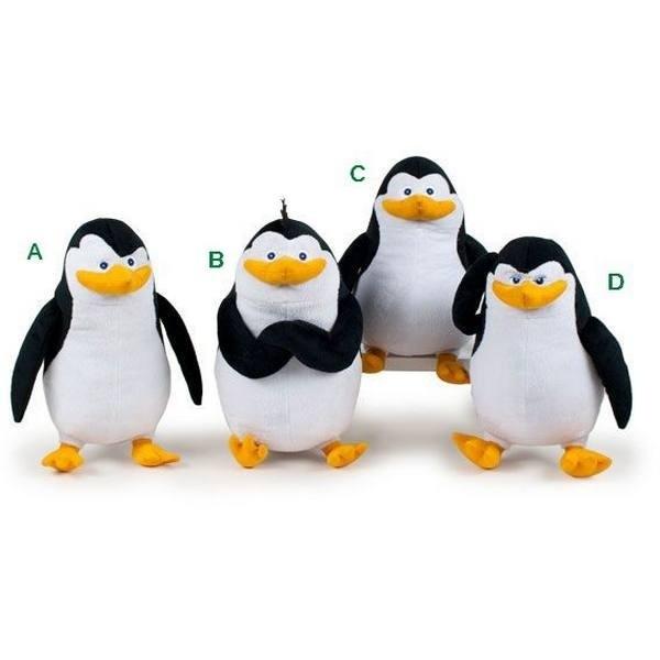 Peluche Pinguini di Madagascar 20cm