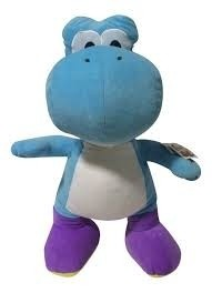 Peluche Super Mario Yoshi blu 67cm
