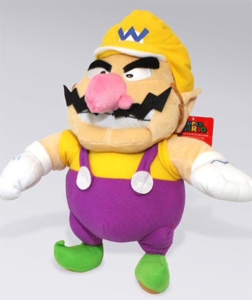 Peluche Super Mario Wario 30cm