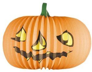 Halloween Paper Lantern Pumpkin ø 36 cm,