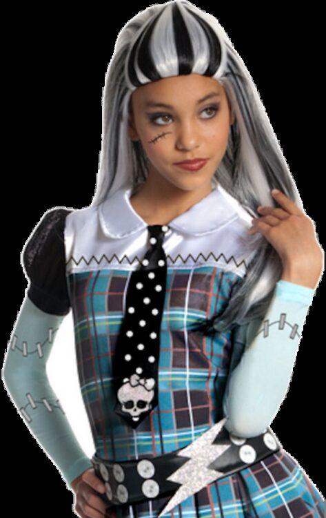 Parrucca bimba Frankie Stein Monster High