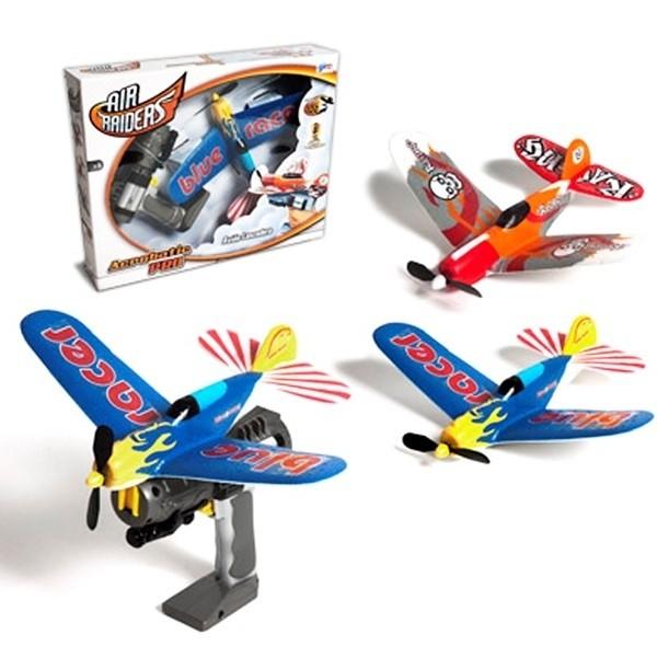 Superflyers Aereo Foam Acrobatico Con Lanciatore