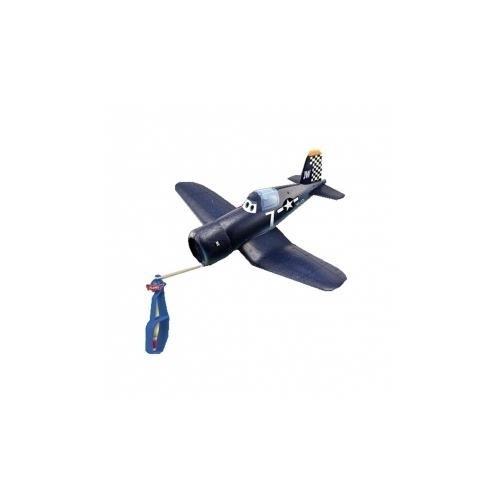 """Planes """"Skipper"""" Aereo Foam Super-Flyerz Con Lanciatore"""