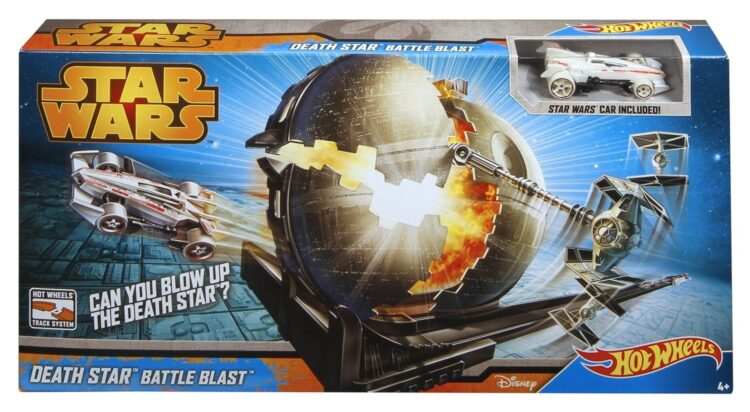 Hot Wheels Pista Star Wars Death Star Battle