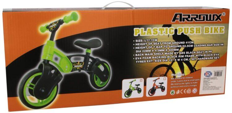 Bicicletta Senza Pedali colore Verde